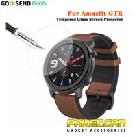 TEMPERED GLASS SMARTWATCH AMAZFIT GTR 47MM ANTI GORES KACA SCREEN