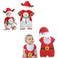 Pakaian Kostum Santa Claus Lucu Untuk Bayi Dan Anak anak Untuk Natal