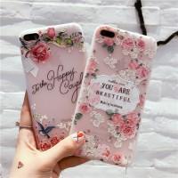 Case iPhone 5 5S SE 6 6S 7 8 Plus X XS 3D Casing Pelindung Bahan TPU S