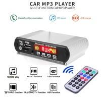 Lucu 5V-12V 1mobil Bluetooth Radio Handsfree Audio Modified dengan