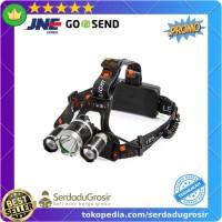 TaffLED Ares Headlamp Headlight 3 LED Cree XM-L T6 + 2 XEP - L3 Bagus