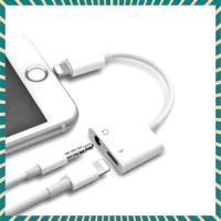 SALE DUAL CONNECTOR IPHONE 7 8 X LIGHTNING AND JACK 35MM