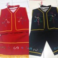 Baju dayak SD baju adat dayak pakaian kalimantan