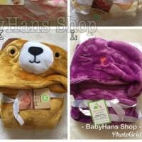 Selimut bayi Carter/Carter's baby blanket/selimut topi karakter/boneka