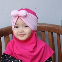 Jilbab Baby Syria Pita Kombinasi / Kerudung Anak / Hijab Bayi / Khimar