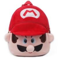 Tas sekolah anak PAUD/ TK, ransel boneka karakter kartun Mario Bros