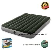 Kasur Angin Pompa Matras Built In Foot Pump Intex 762