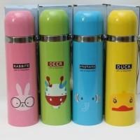 Termos Vacuum Cup Animal 500ml / Botol Air Panas Anak Karakter B09