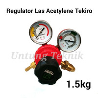 TEKIRO Regulator Las Gas Acetylene - Welding Regulator Heavy duty