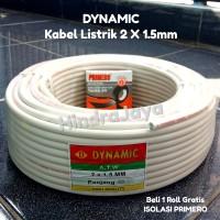 Kabel Listrik Nym / Kawat 2x1.5 Dynamic Panjang 50 yard