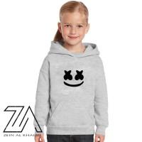 Jaket Sweater Hoodie Anak Marshmello Murah