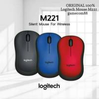Logitech Mouse Silent Wireless M221 Original