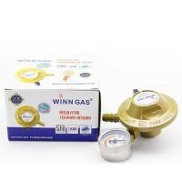 Winn Gas Regulator Tekanan Rendah W 118 M /W118M dengan Meter