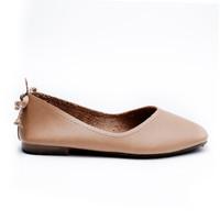 CPE - VESSA (Brown) Sepatu Flats Ballerina Wanita Shoes