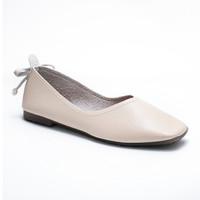 CPE - VESSA (Beige) Sepatu Flats Ballerina Wanita Shoes