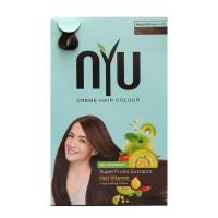 NYU CREAM HAIR COLOUR NATURAL BROWN NS