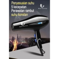 Hair Dryer Han River Hairdryer Hot and Cold Alat Pengering Rambut