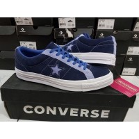 Sepatu Casual Converse Cons One Star Skate Suede Twillight Original
