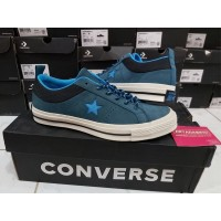 Sepatu Casual Converse Cons One Star Skate Sierra Blue Fir Original
