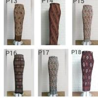 rok plisket batik