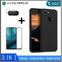 Softcase Oppo A7 2018 Case Oppo A 7 Premium Casing Hp Slim Cover