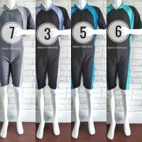 (SMA) Baju Renang Diving Pendek Anak SMA - Dewasa 3L