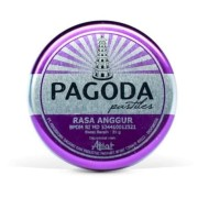 Permen Pagoda pastiles rasa ANGGUR 20 gram