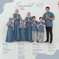 Original Nibras Set koko Anak nsal 68 Sarimbit 68 Seragam Lebaran