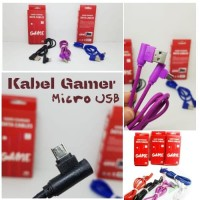 Kabel Charger Micro Type L 2.4A FAST CHARGING Data Kabel Android V8