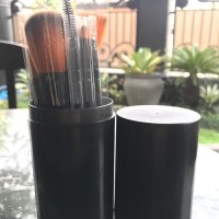 Make Up Brush 12 Set in Tube / Kuas Make Up 12 Set / Brush Make Up