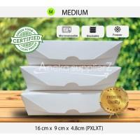 Lunch Box Paper | Kemasan Kotak Makanan Kertas - Besar M