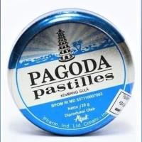 Permen Pagoda pastiles MINT 20 gram