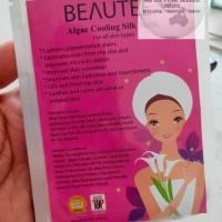 BEAUTEE Algae colling silk mask - Masker Beautee