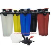 SMART SHAKER dual 400ml botol susu fitness shaker gym tumbler murah