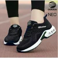 sepatu sneaker kets wanita adidas hitam sport ready no 37 38 39 40