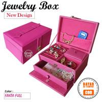 Kotak Tempat Cincin Emas Kalung dan Aksesoris / Jewelry Box