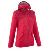 Jaket gunung waterproof jaket quechua woman hiking jacket waterproof