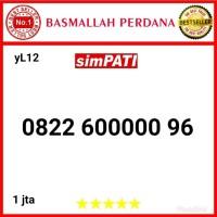 Nomor Cantik simpati seri Panca 00000 0822 600000 96 yL12