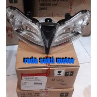 LAMPU DEPAN HONDA HEAD LIGHT NEW BLADE NEW SUPRA X 125 FI ORIGINAL HGP
