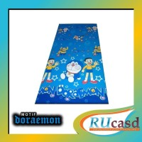 Sarung Kasur Busa 90X200X15 No.4 Motif Doraemon