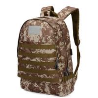 Freeknight Tas Ransel PUBG Backpack USB Port Army Military TCR08