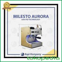 Hot List Milesto Aurora Coffe Machine Espresso Maker Mesin Kopi Whit