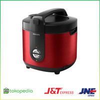 PHILIPS Rice Cooker Pro Ceramic 2 Liter HD3132 - Merah Pilihan