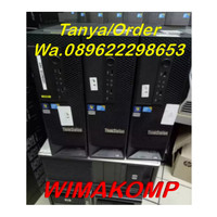 PC SERVER UNBK LENOVO C20 Quad Xeon E5620 Ram 4gb Hdd 500 NVIDIASECOND