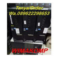 PC SERVER UNBK LENOVO C20 Quad Xeon E5620 Ram 8gb Hdd 500 NVIDIA MURAH