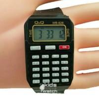 SILAHKAN DI ORDER Jam tangan kalkulator merk q&q qq qnq paling murah