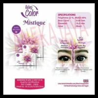 Softlens Living Color Mistique (Kemenkes) 16 Mm (Black Only)