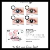 Soflens Darling X2 Exoticon Big Eyes - Hitam