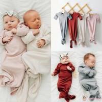 Promo Sleeping Bag / Kantung Tidur Bayi Bahan Katun Warna Polos