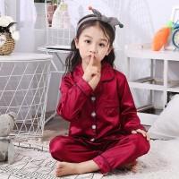 PIYAMA ANAK PP Satin usia 1 - 5 Tahun
